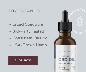 Buy Joy Organics CBD oil in Northfield, VT